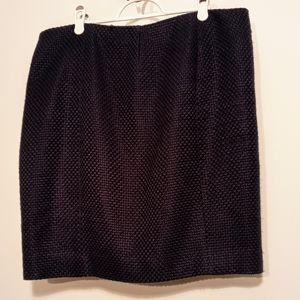 Anne Klein short skirt-navy blue